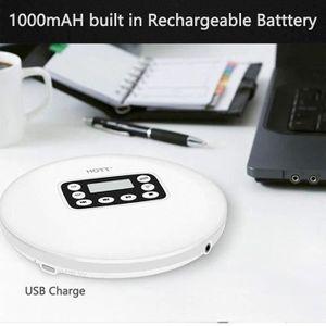 BALADEUR CD - CASSETTE Lecteur CD Portable Batterie Intégré 1000mAh Lecte