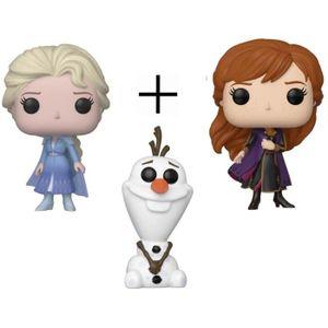 FIGURINE DE JEU Pack de 3 Figurines Funko Pop! - La Reine des Neig