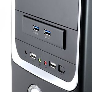 RACK - BAIES  CABLING® Façade 2 ports USB 3.0 pour baie 3,5