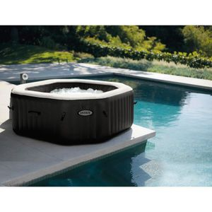 SPA COMPLET - KIT SPA INTEX-28456EX- Pure spa gonflable 6 places Ecoster