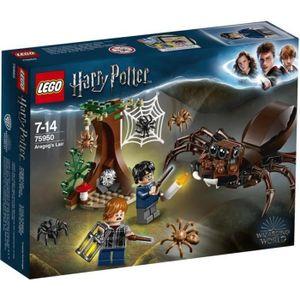 ASSEMBLAGE CONSTRUCTION LEGO® Harry Potter™ 75950 Le repaire d'Aragog - Je