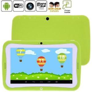 TABLETTE TACTILE RECONDITIONNÉE MOONMINI® Tablette enfant vert 8Go Android 4.2.2 W