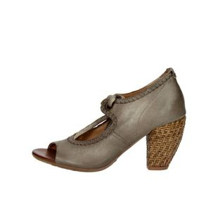 BOTTINE Airstep Open Toe Chaussures Femme Marron Taupe, 37