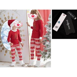 7e302f16fb521 PYJAMA FindDress Chic Pyjamas de Noël famille Rouge t shi