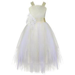 ROBE DE CÉRÉMONIE Robe de Mariage Fille Enfant Demoiselle d'honneur