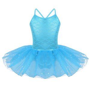 TUTU - JUSTAUCORPS Robe Ballet Fille Enfant Tutu Danse Classique Acad