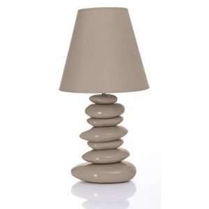lampe taupe achat vente lampe taupe pas cher cdiscount. Black Bedroom Furniture Sets. Home Design Ideas