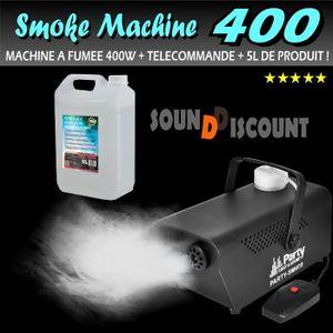 MP3 ENFANT MACHINE à fumée 400w pour jeu de lumière + 5 Litre