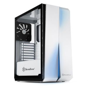 PC ASSEMBLÉ SilverStone SST-RL07W-G - Red Line Boîtier PC Game
