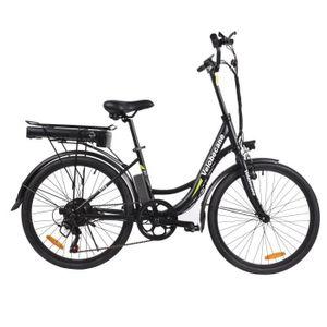 VÉLO ASSISTANCE ÉLEC VELOBECANE Vélo électrique City - Noir