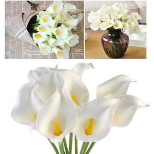 BOUQUET MARIÉE TISSU OuliiFlowers Lily mariée mariage bouquet 10pcsCD-4