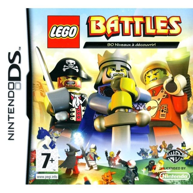 lego battles jeu console nintendo ds achat vente jeu ds dsi lego battles nds cdiscount. Black Bedroom Furniture Sets. Home Design Ideas