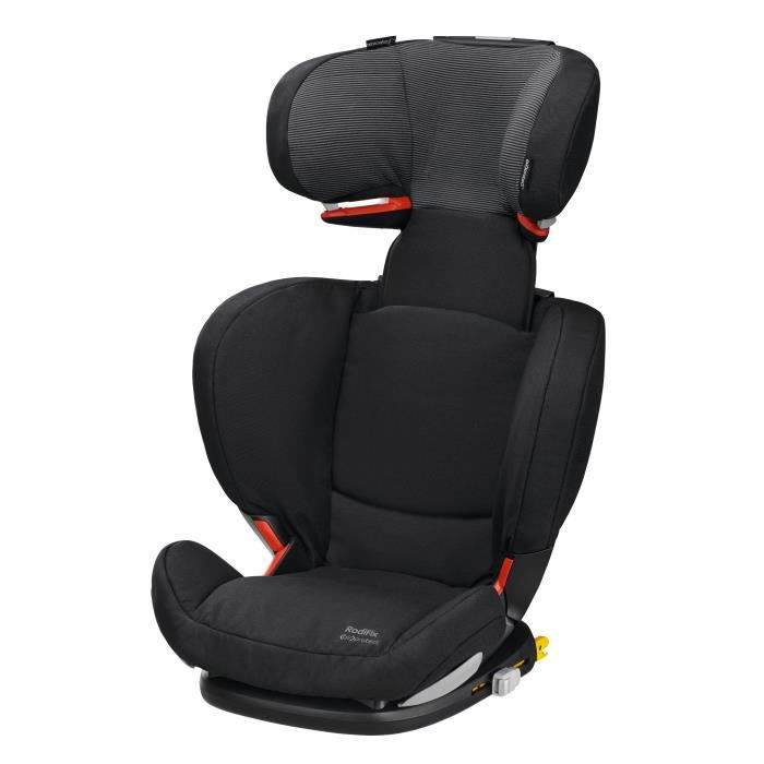 BEBE CONFORT Siège Auto Groupe 2/3 Rodifix AirProtect - Isofix Black Raven