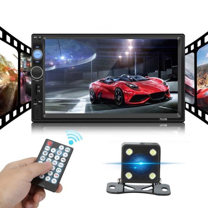 Radio FM de Bluetooth de mains libres de joueur de la voiture MP5 avec les pièces d'auto de l'appareil photo 7010B-LAT