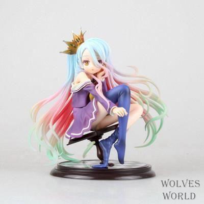 NO GAME NO LIFE FIGURINE Shiro 15.5 cm