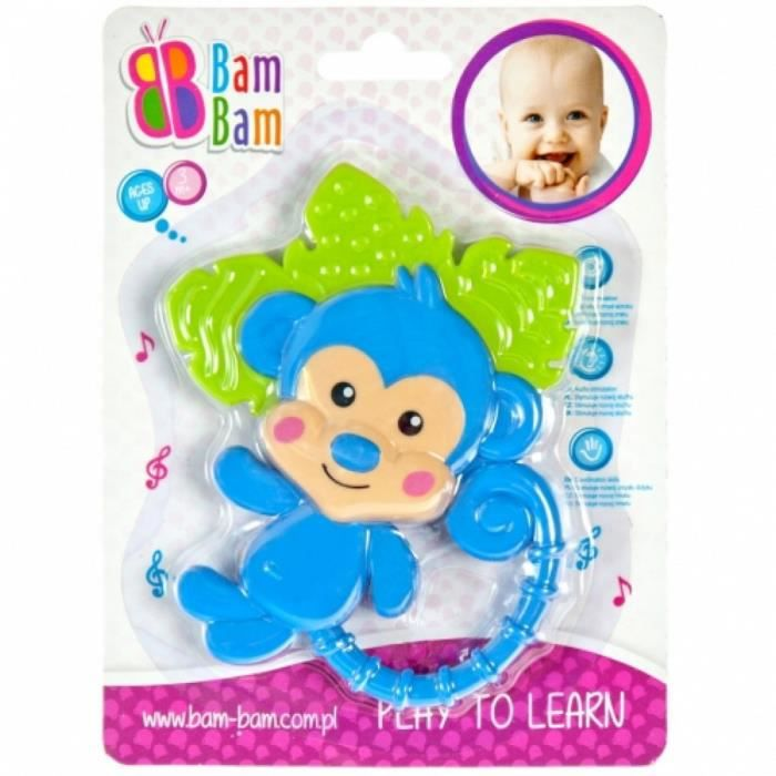 Hochet pour bébé - SINGE - de la marque - BAM BAM -.