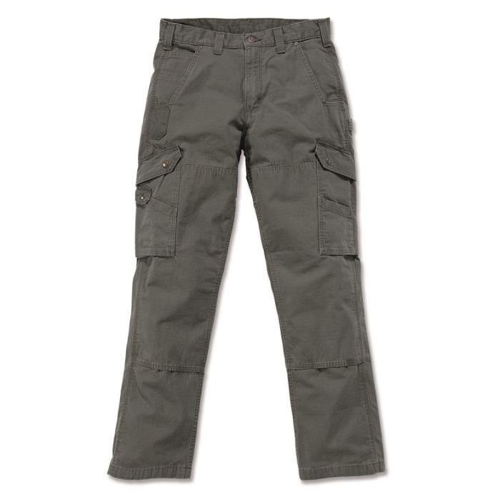 Pantalon CARGO 100% coton armé Ripstop avec renforts Vert clair W28/L32 CARHARTT S1B342MOSW28L32 28 x 32 Vert Clair