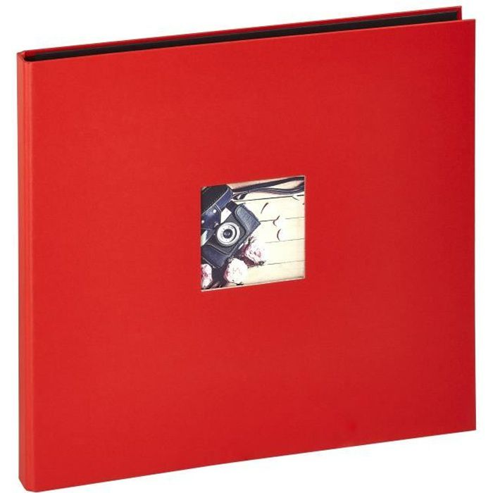 PANODIA Album photos traditionnel Studio - 300 vues - 60 pages - Rouge