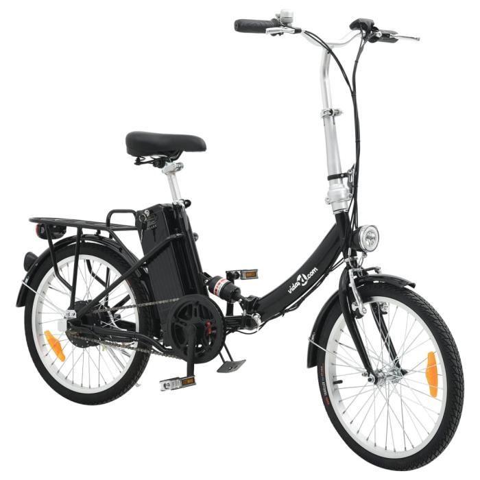 Luxueux - Vélo électrique Vélo Assistance électrique pliable et pile lithium-ion Alliage d'aluminium