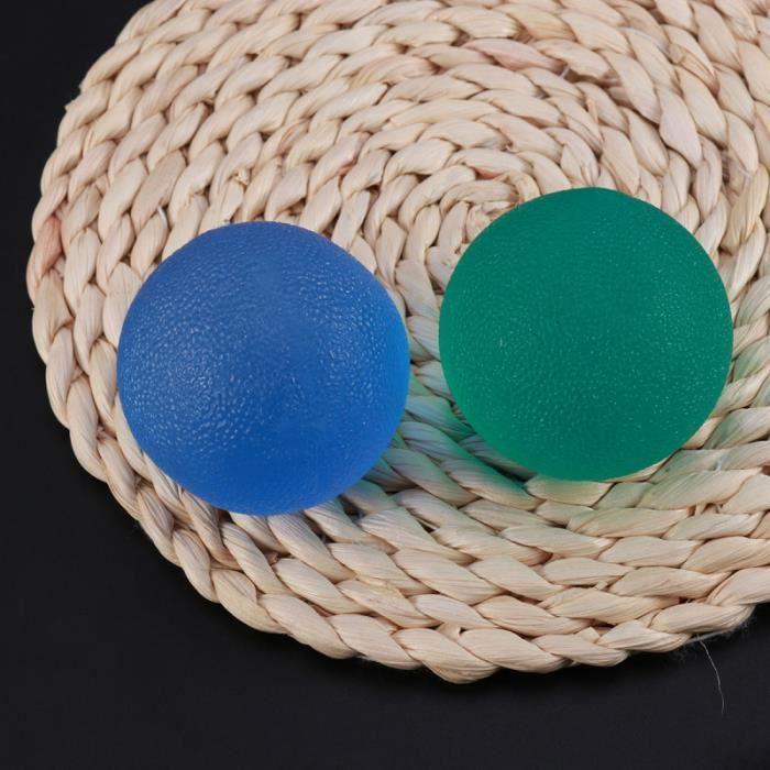 2 pièces balles de thérapie à la main rééducation soulagement du stress renforcement de BARRE POUR TRACTION - DIP STATION