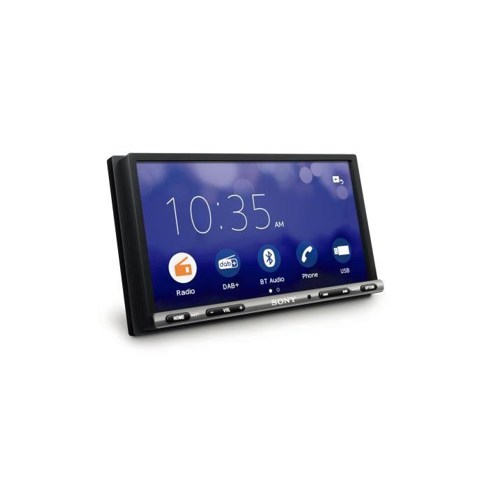 Sony - Autoradio Multimedia 7- XAV3550ANT - DAB+ - Bluetooth - Weblink + Antenne et Microphone