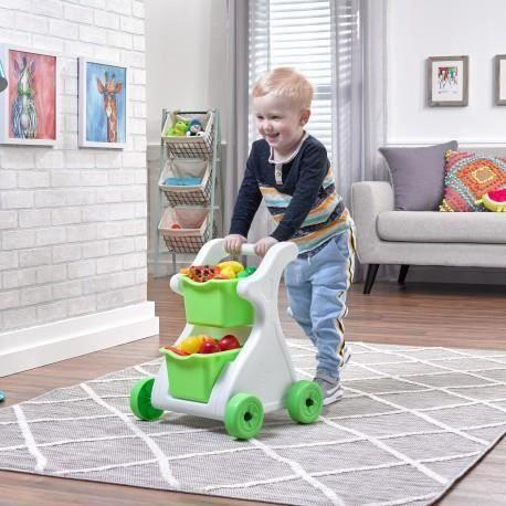 STEP 2 Chariot de courses Modern Mart chariot de marche jouet enfant 2 ans