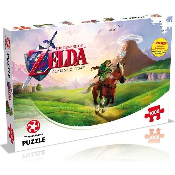 ZELDA Puzzle Ocarina Of Time 1000 pièces