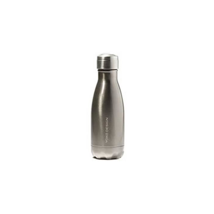YOKO DESIGN Bouteille isotherme 260ml MY SMARTBOTTLE Inox