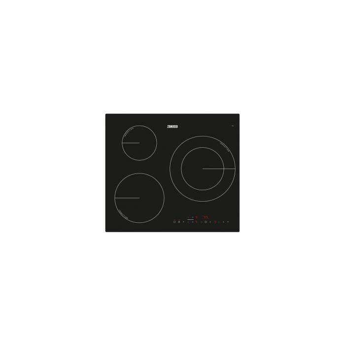 Plaque à Induction Zanussi ZM6233IOK 60 cm (3 zones de cuisson)