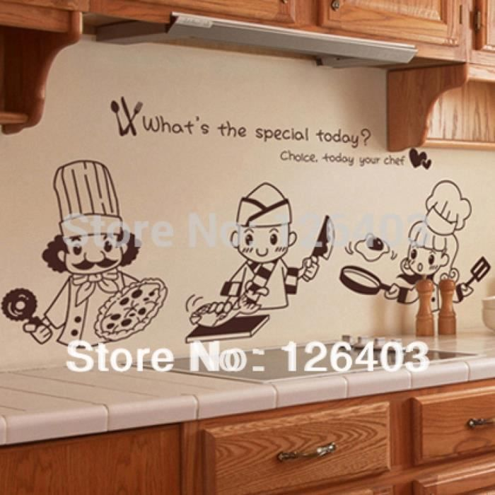 cuisine sticker adh sifs muraux cuisine carrelage mural autocollants pour cuisine maison. Black Bedroom Furniture Sets. Home Design Ideas