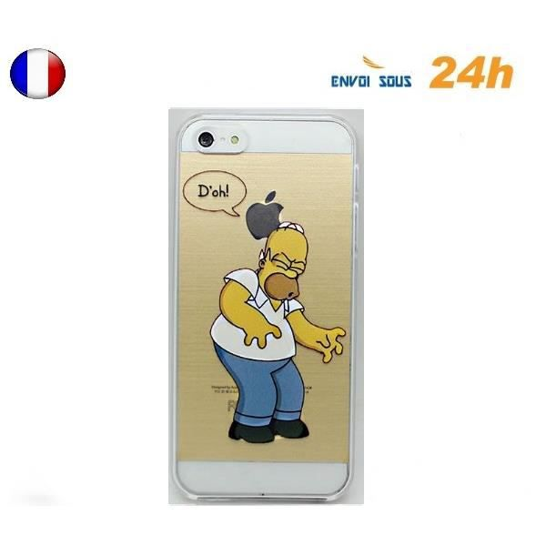 coque iphone 6 omer simpson