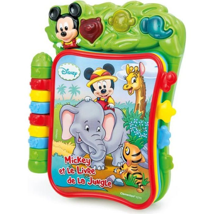 mickey livre musical clementoni achat vente livre interactif cdiscount. Black Bedroom Furniture Sets. Home Design Ideas