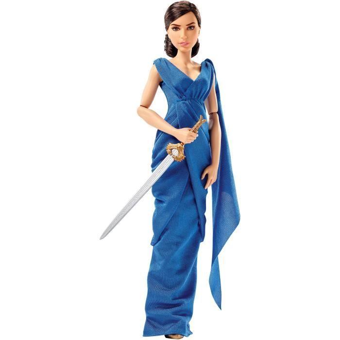 """Mattel DC WONDER WOMAN DIANA PRINCE /& caché épée poupée 12/"""""""