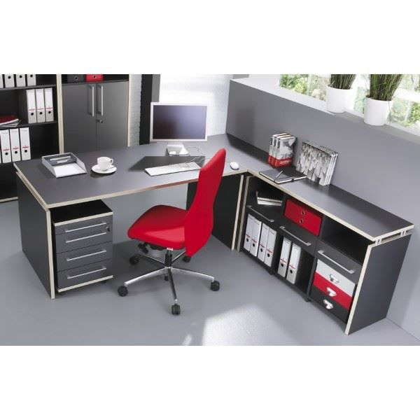 ensemble bureau meuble de rangement et caisson achat. Black Bedroom Furniture Sets. Home Design Ideas
