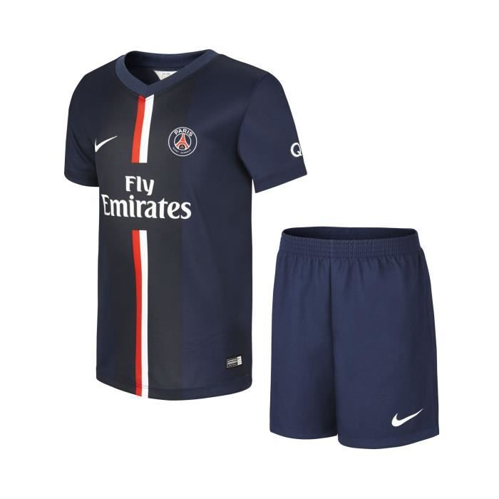 maillot de foot psg enfant short 2015 prix pas cher. Black Bedroom Furniture Sets. Home Design Ideas