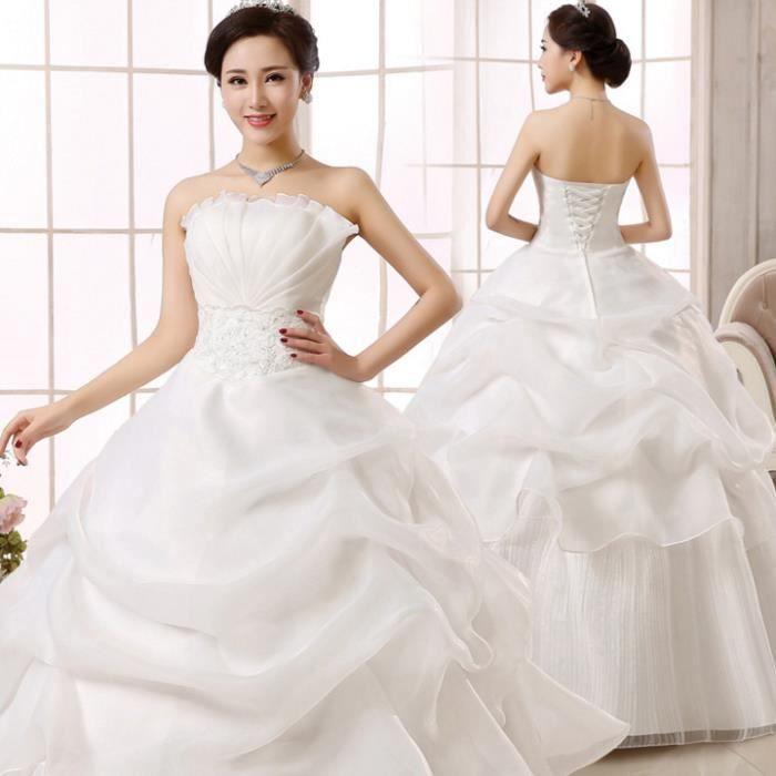 Grande taille robe de mariage des femmes