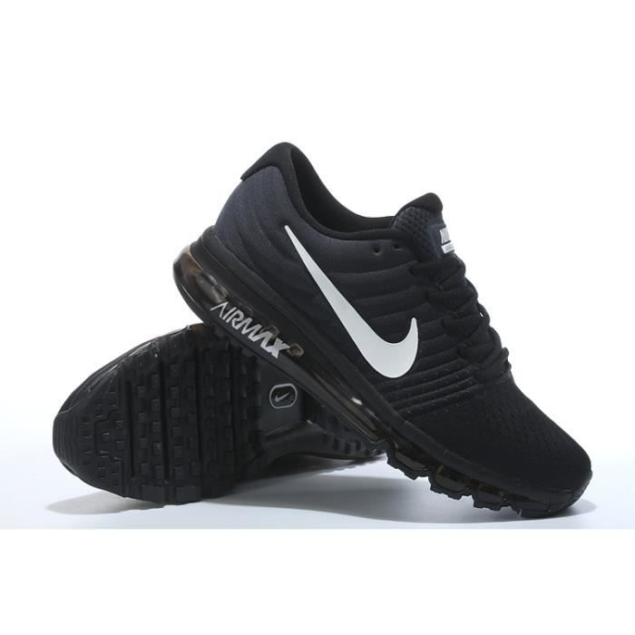 hot sales 458dd 39e37 NIKE Basket Garçon Air Max 2017 sport - Synthétique - Noir