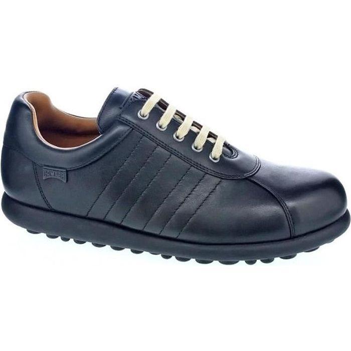 Chaussures Camper Homme avec lacet modèle Pelotas Noir - Achat
