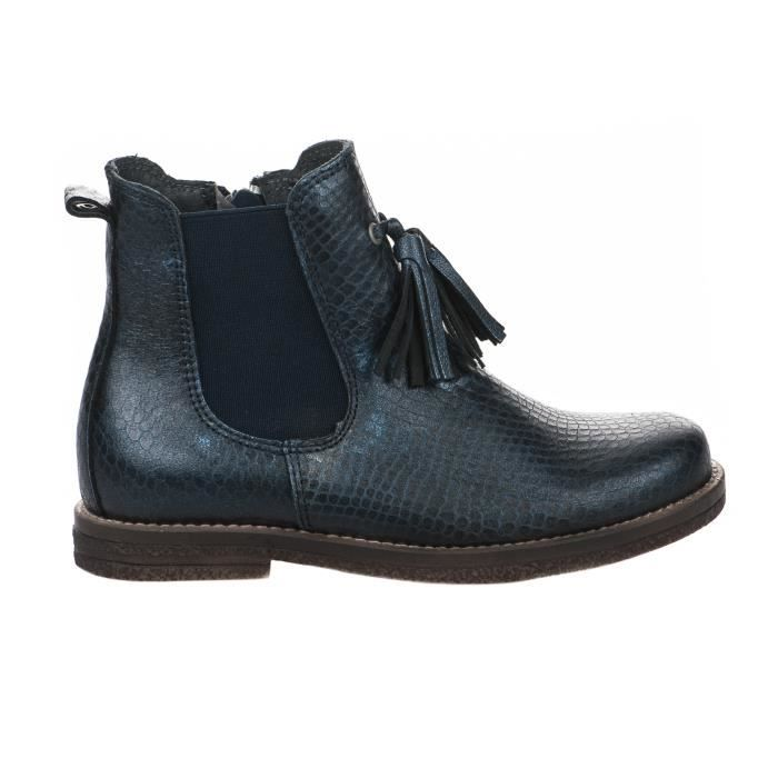 Boots fille - LITTLE DAVID - Bleu marine - LIBI 1 21713519 - Millim