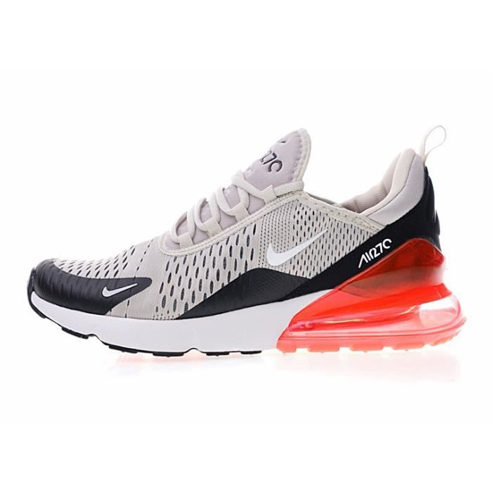 on sale 61b2a d1194 Basket NIKE Air Max 270 Chaussures Homme Femme Sneaker de Running  Compétition Gymnastique Sports Fitness Gym Shoes