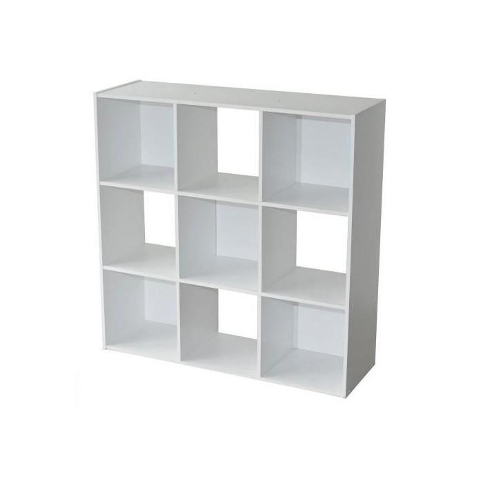 etagere 9 casiers compo blanc achat vente meuble tag re etagere 9 casiers compo blanc. Black Bedroom Furniture Sets. Home Design Ideas