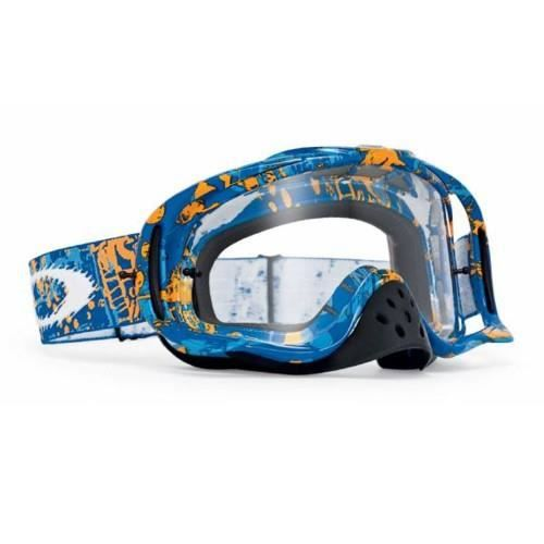 Réf Écran Icon One Blue Transparent Masque Crowbar Oakley Mx Orange rQeCBoxWEd
