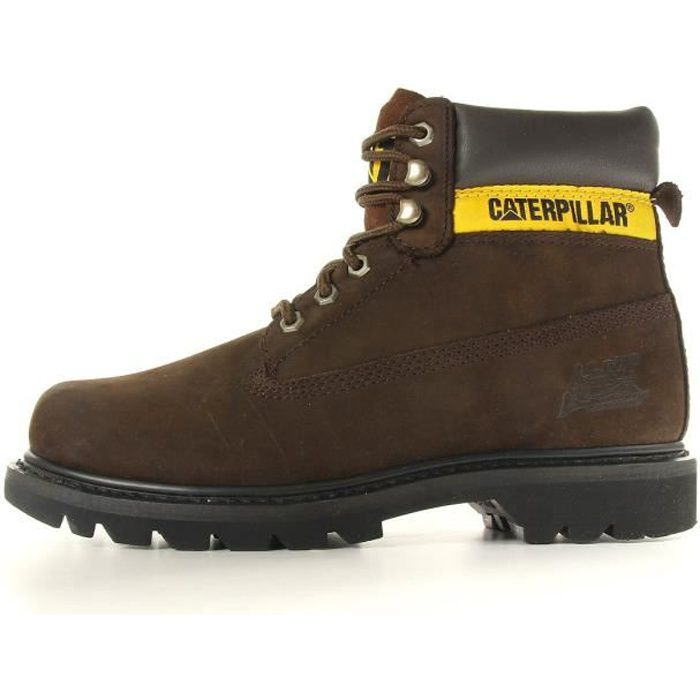 CATERPILLAR Bottines Colorado Chaussures Homme Chocolat