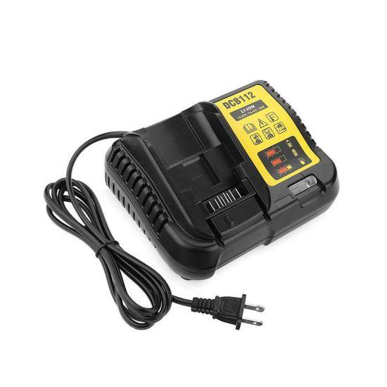 240V Entrée Li-Ion Chargeur Batterie 12V /& 20V Max pour Dewalt DCB105 New 100V