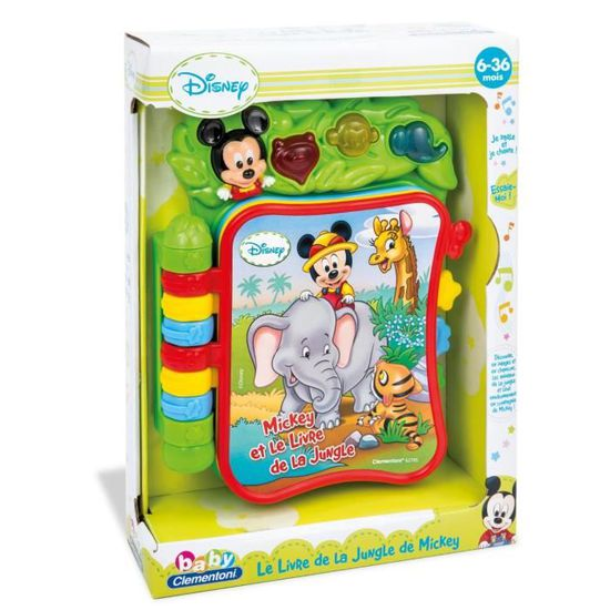 Mickey Livre Musical Clementoni
