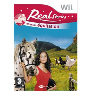 JEUX WII REAL STORIES MISSION EQUITATION / JEU CONSOLE WII