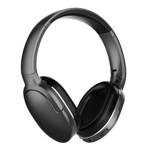 CASQUE - ÉCOUTEURS Casque Bluetooth sans fil portable avec microphone