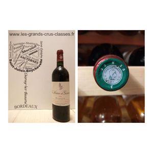 VIN ROUGE La Sirène de Giscours 1999 - Second Vin - Margaux