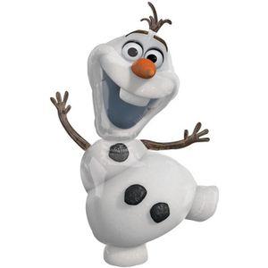 BALLON DÉCORATIF  Ballon géant Olaf La reine des neiges hélium Disne
