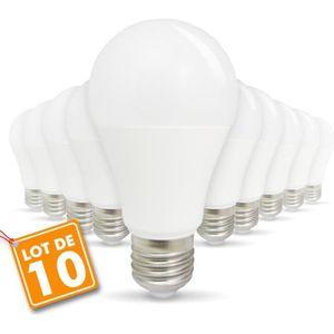 Lot de 2 philips led dépoli E27 à vis edison 60w blanc chaud ampoule lampe 806Lm